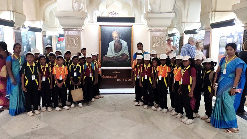 Field trip to the Gandhi Museum
